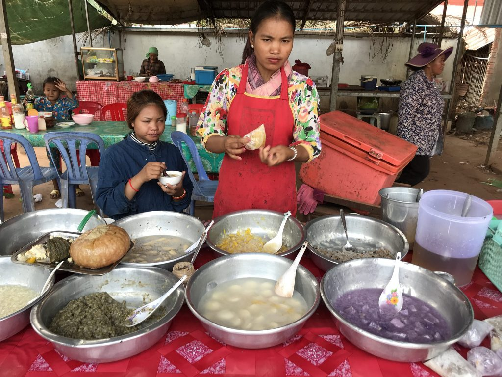 Cooking Class in Cambodia-market